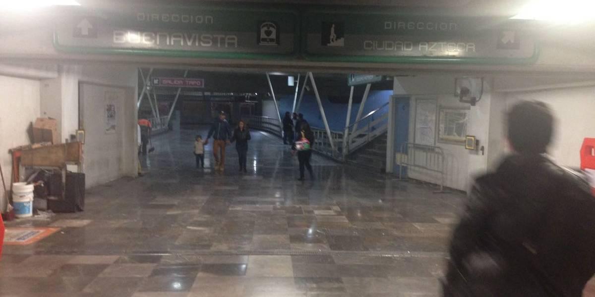 Metro niega asalto masivo en San Lázaro, de la Línea B