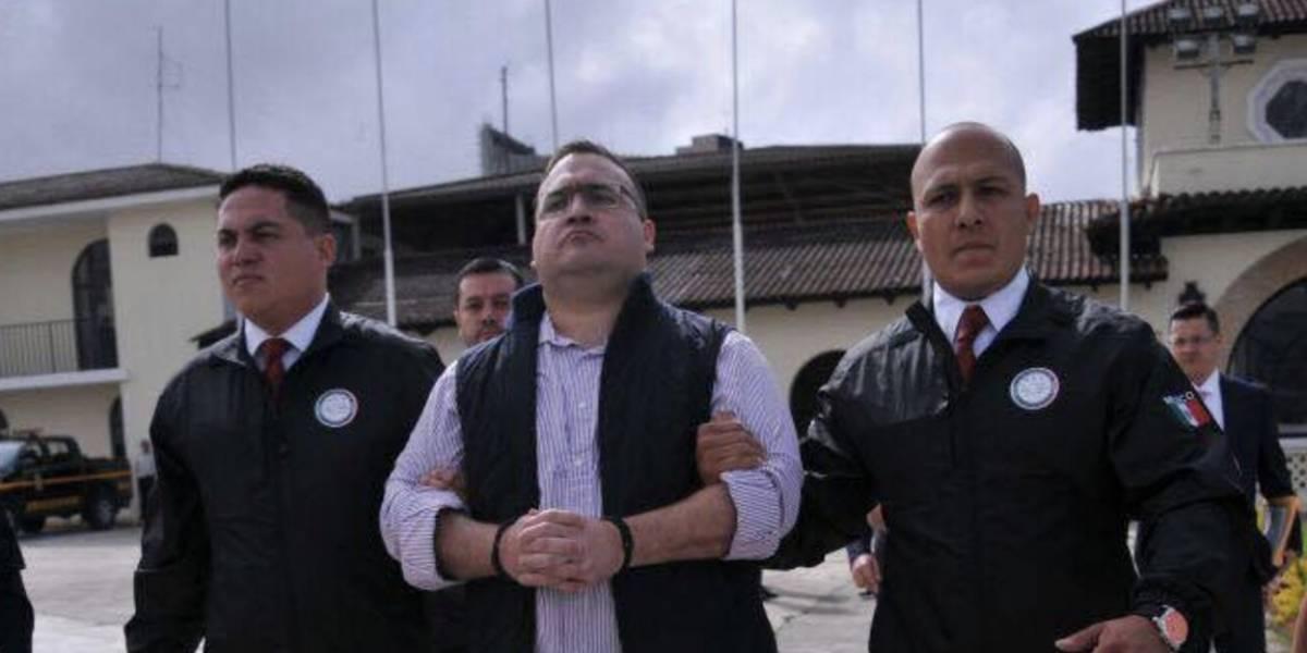 Fiscalía de México anuncia que Javier Duarte fue vinculado a proceso