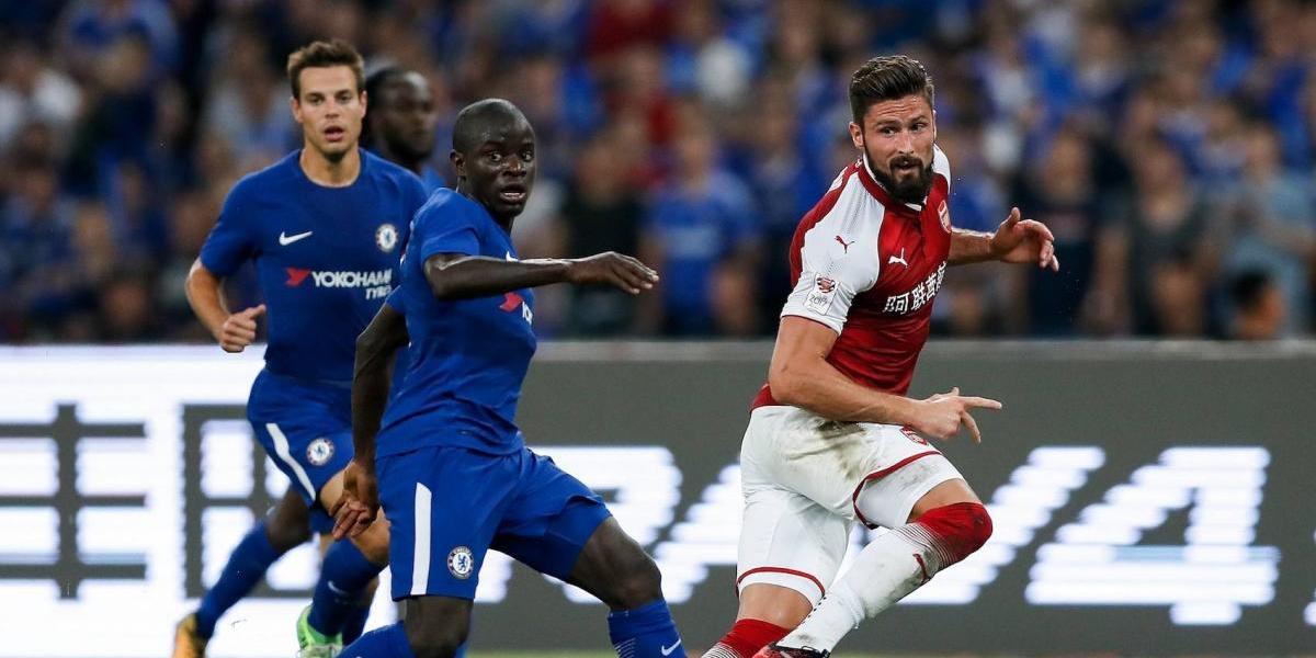 Chelsea golea al Arsenal en partido amistoso