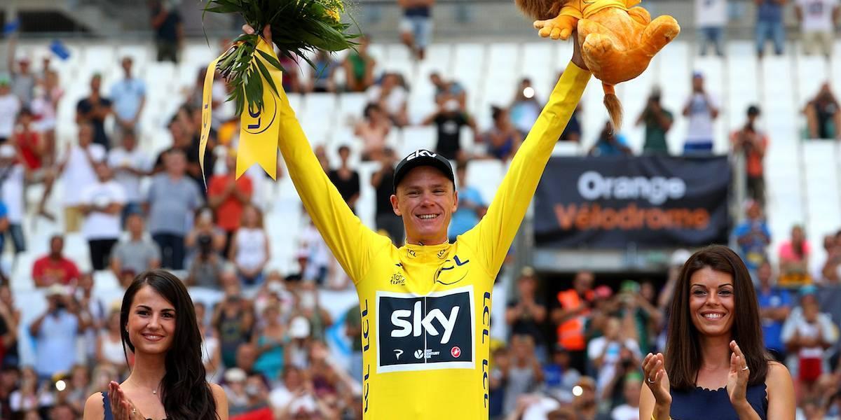 Chris Froome amarró un título más del Tour de Francia