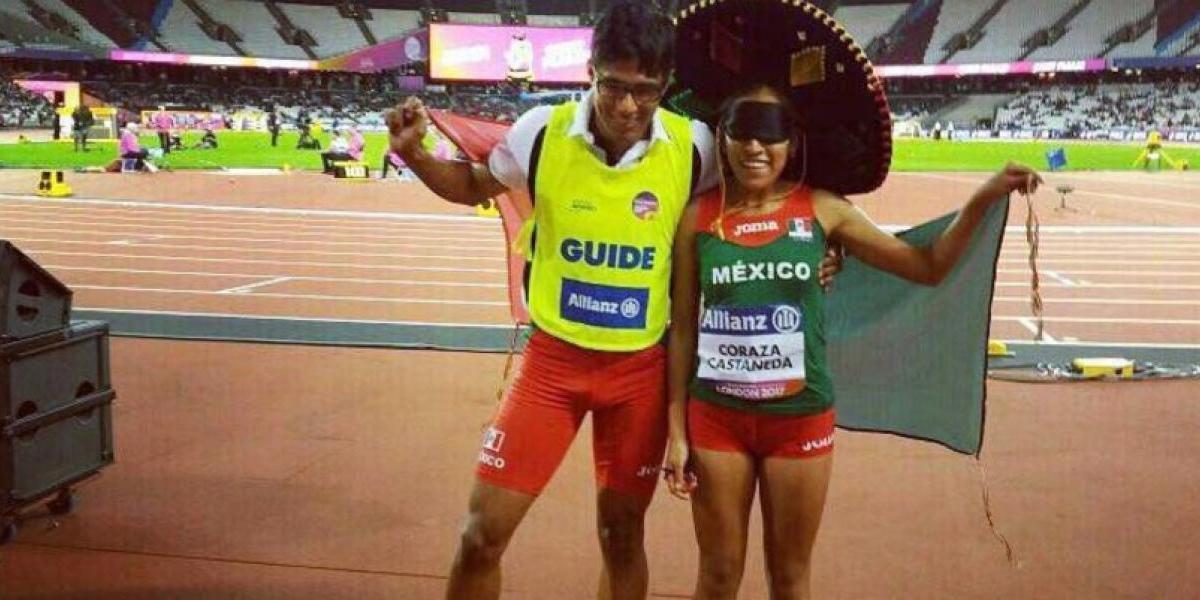 Mexicana consigue medalla de oro en Campeonato Mundial de Paratletismo