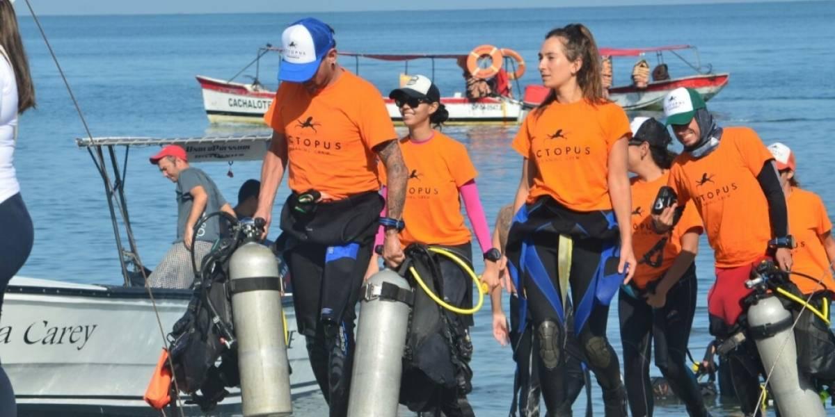 Con jornada de limpieza submarina comienzan las Fiestas del Mar en Santa Marta