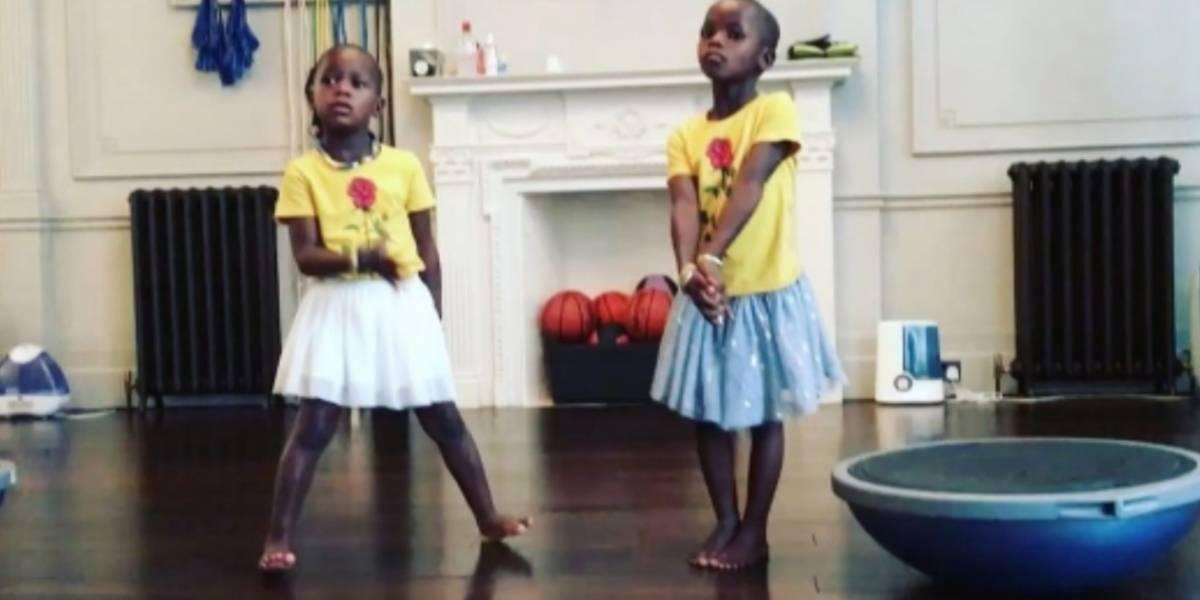 ¡Adorables! Así se ven las hijas de Madonna cantando el 'Waka waka' de Shakira