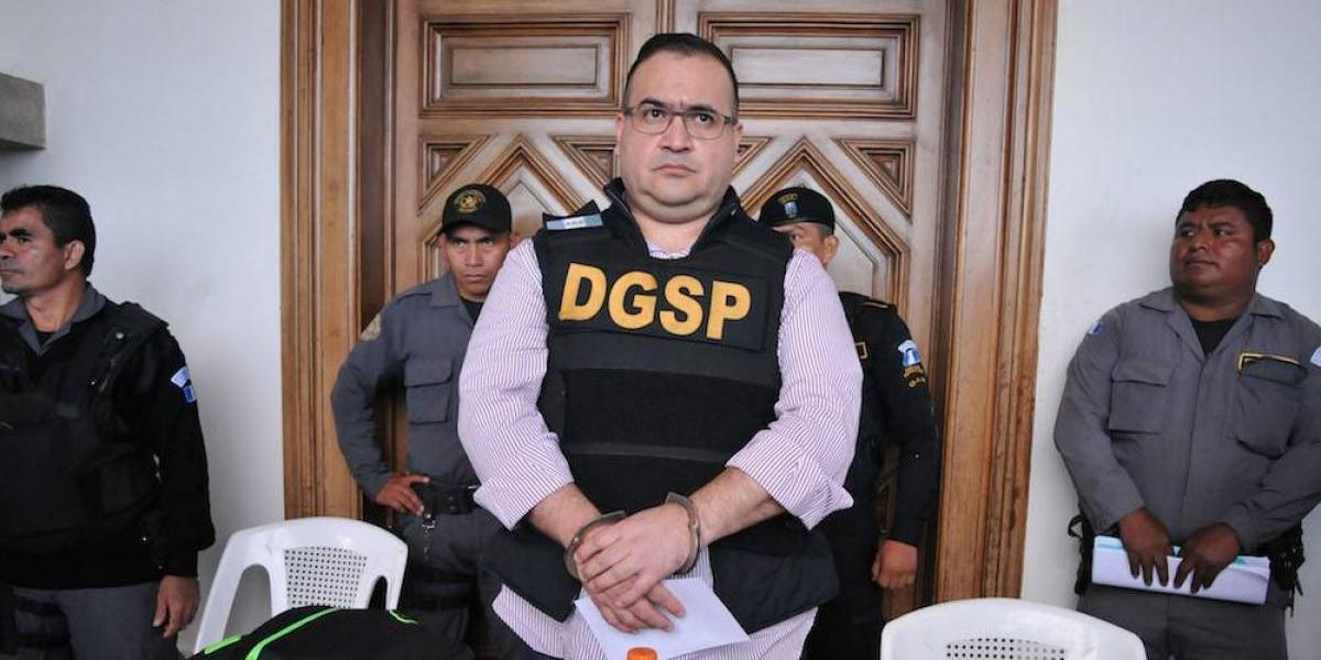 PGR vincula a proceso al exgobernador Javier Duarte