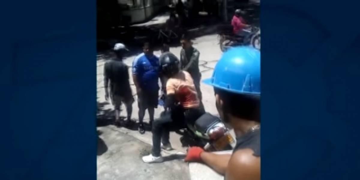 Un reciclador fue el héroe de dos turistas norteamericanas que iban a ser robadas