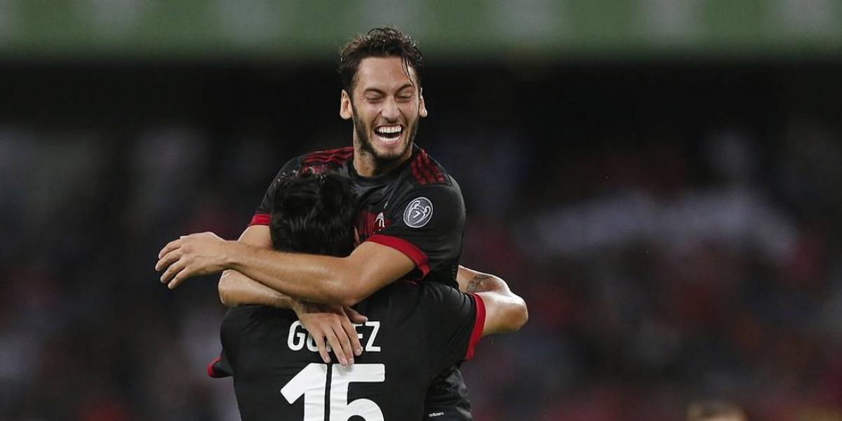 Milan sorprende y golea al Bayer Munich en partido amistoso