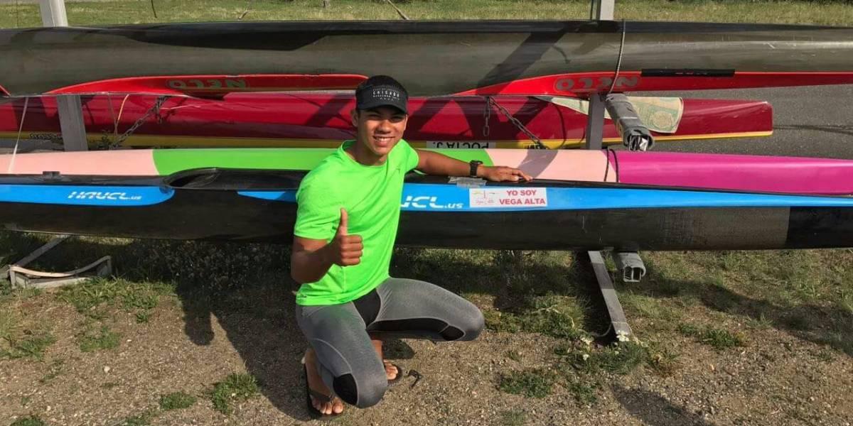 Total apoyo para atleta boricua en Copa Nacional de Canotaje