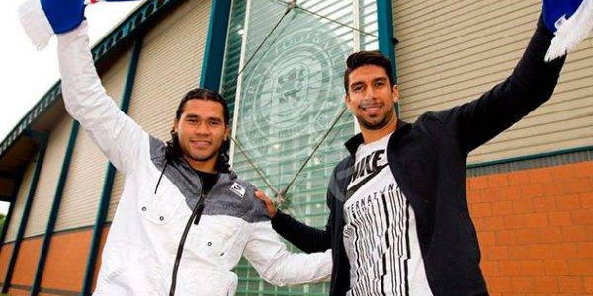 Herrera, 'Gullit' Peña y los Rangers empatan en partido amistoso