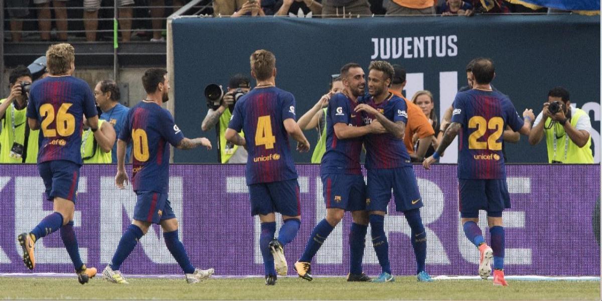 VIDEO. Neymar anota un doblete mientras se rumora que dejará al Barcelona