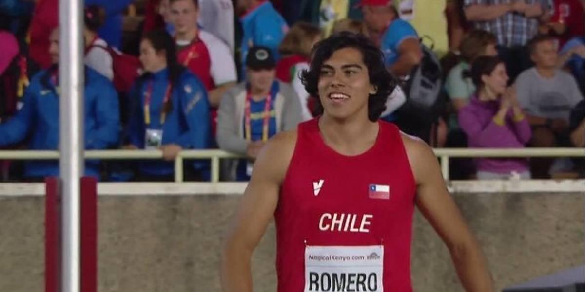 Claudio Romero otra vez: se coronó campeón panamericano Sub 20 de lanzamiento de disco