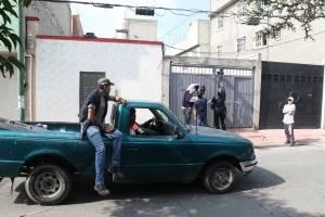 """Casa en Tláhuac donde fue abatido """"El Ojos"""""""