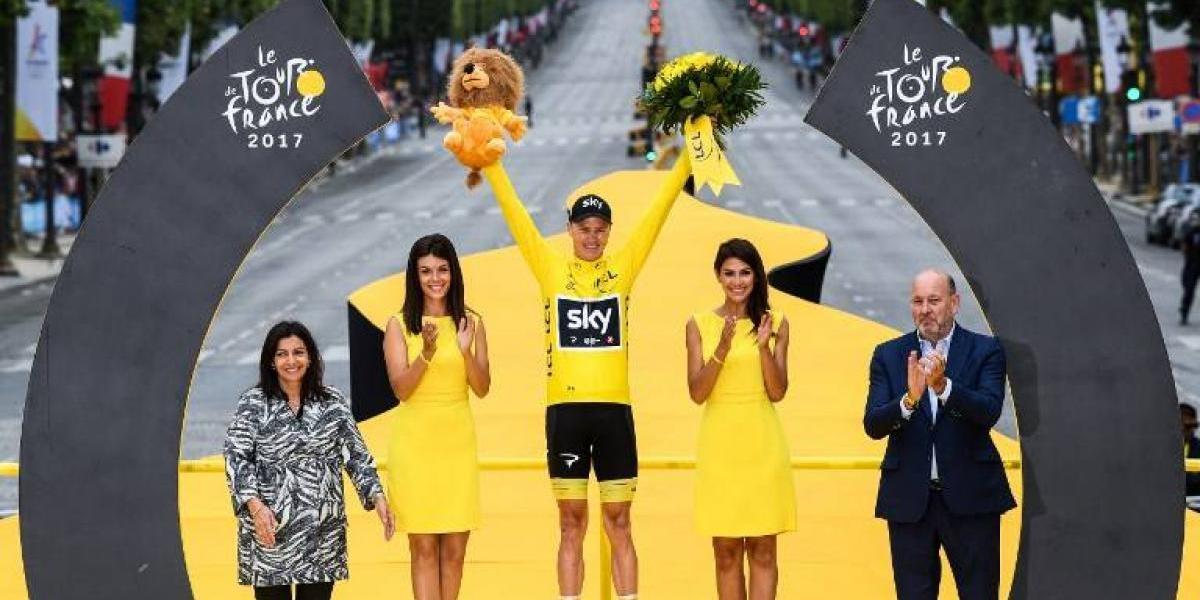 Chris Froome conquistó su cuarto Tour de Francia y reclama su lugar entre los grandes del ciclismo