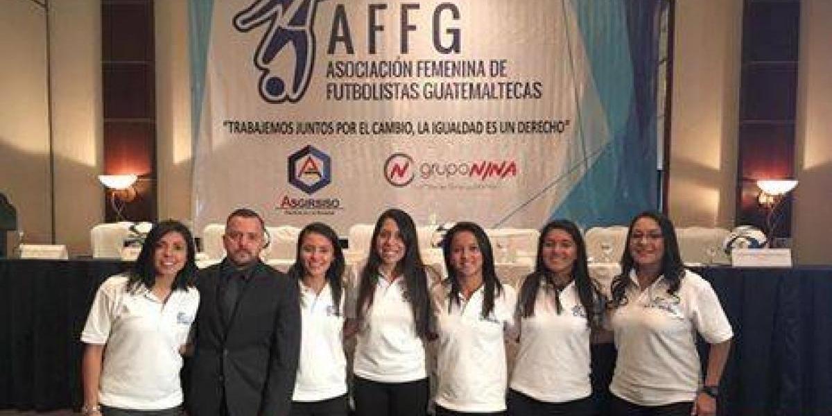 Ana Lucía Martínez lanza la Asociación Femenina de Futbolistas Guatemaltecas