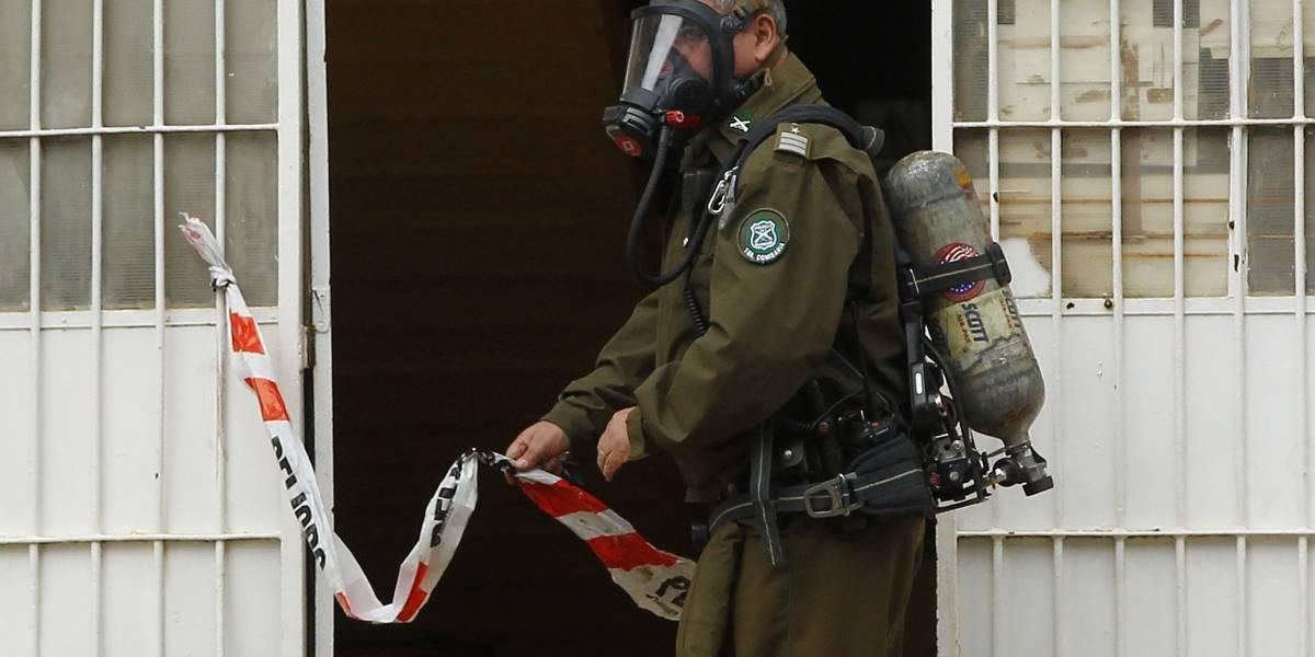 Dos menores y un adulto heridos grave por explosión de cilindro de gas en Quintero
