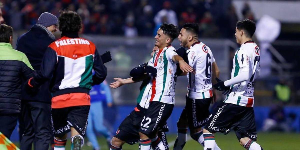 Palestino superó en la agonía a La Calera y avanzó a octavos de final en Copa Chile