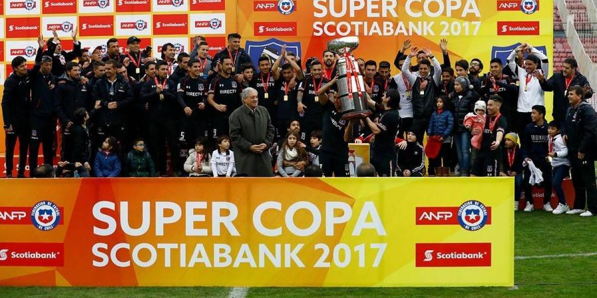 "Colo Colo ganó su primera Supercopa y completó la ""triple corona"" del fútbol chileno"