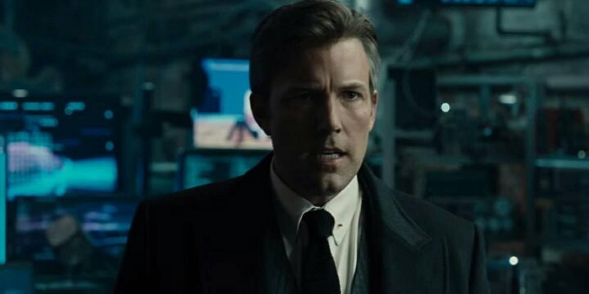 Ben Affleck sigue en el papel de Batman