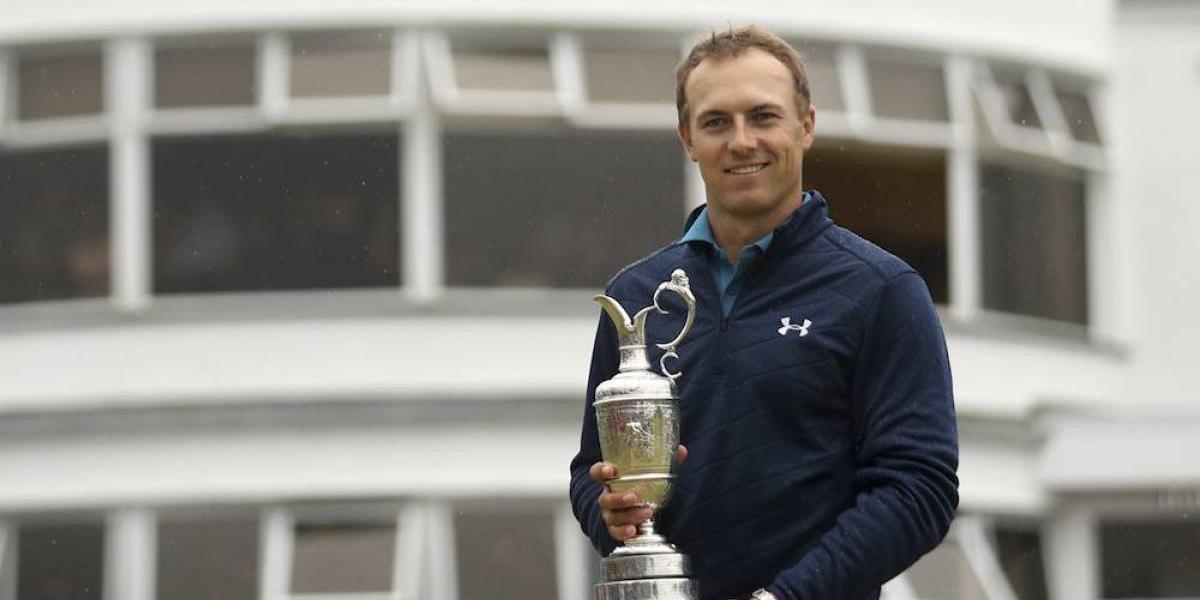 Jordan Spieth se corona en el Abierto Británico de golf