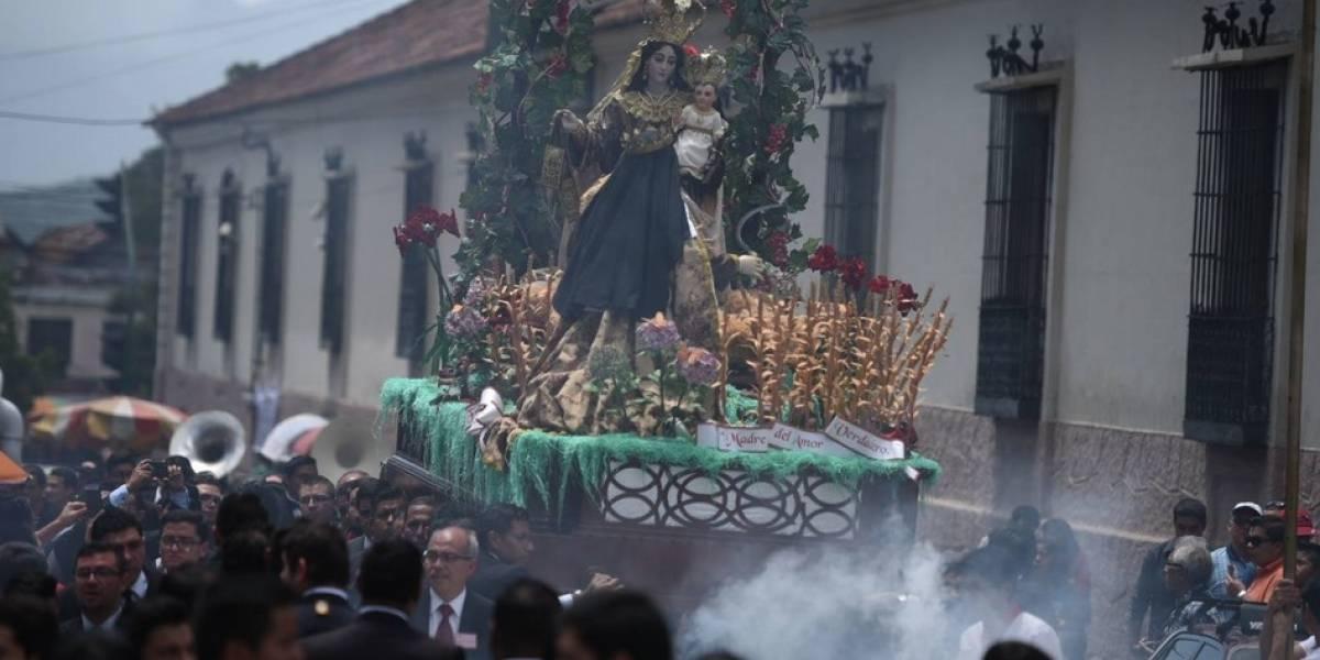 Virgen del Carmen recorre calles del Centro Histórico