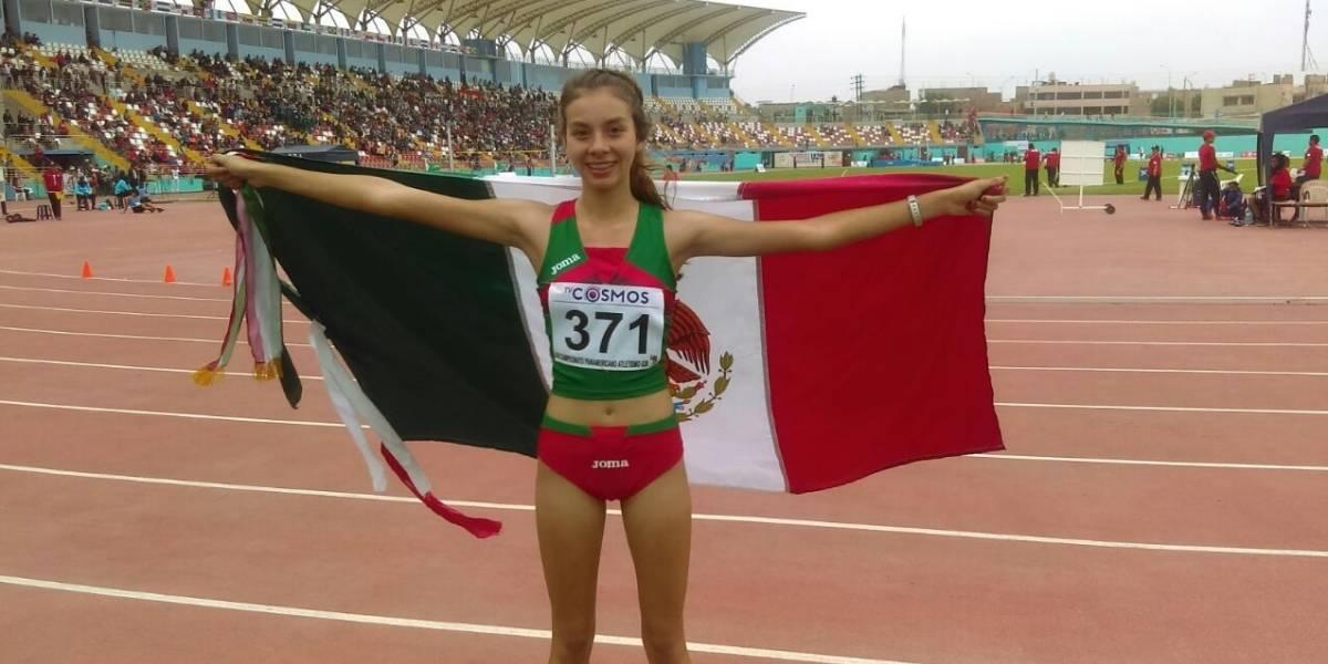 Doble oro para México en el Panamericano de Atletismo