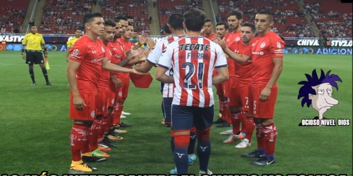Los memes del debut de Chivas ante Toluca en el Apertura 2017