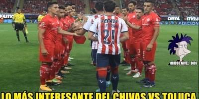 Los memes del début de Chivas ante Toluca en el Apertura 2017