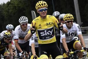 Chris Froome, campeón del Tour de France 2017