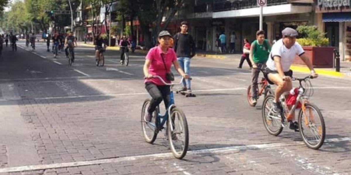 Cierran diversas vialidades por actividades deportivas en la CDMX