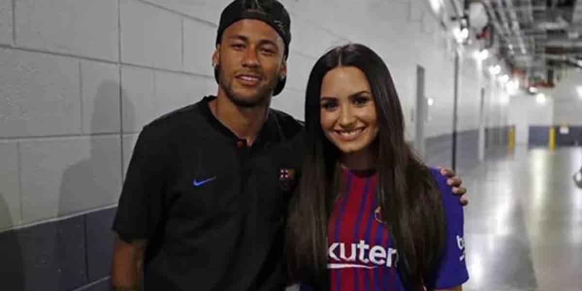 Como Demi Lovato pode ajudar Neymar a superar Bruna Marquezine