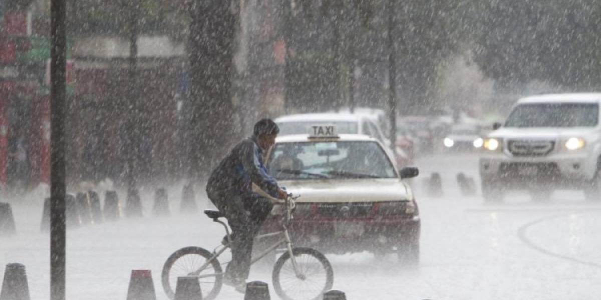 Clima: continuarán lluvias vespertinas en el Valle de México