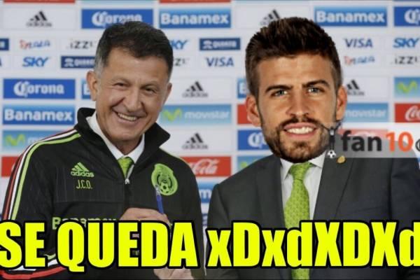Los memes del partido México vs. Jamaica en la Copa Oro 2017