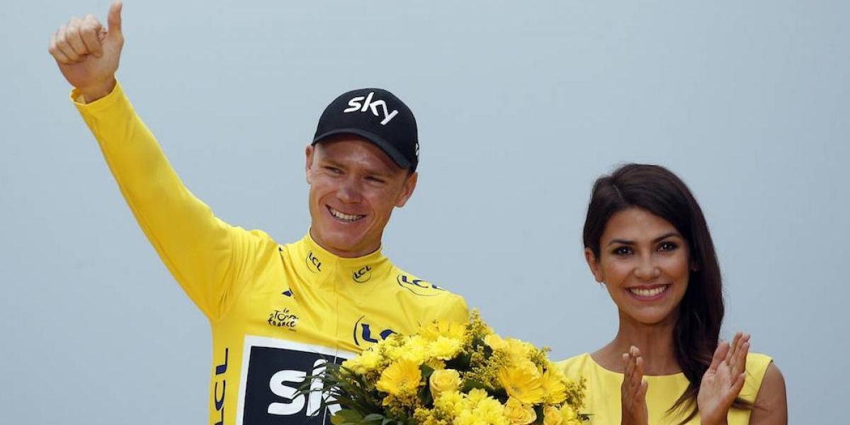 Chris Froome conquista el Tour de Francia por cuarta vez en su historia