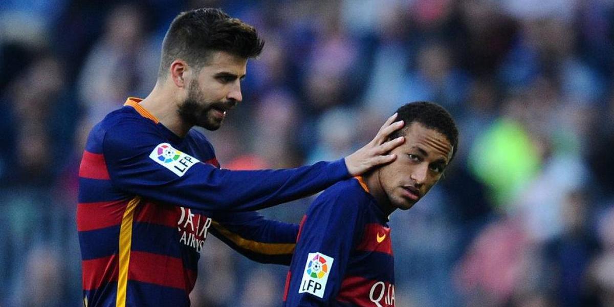 """¿No se mueve de Cataluña? Piqué """"anunció"""" que Neymar se queda en Barcelona"""