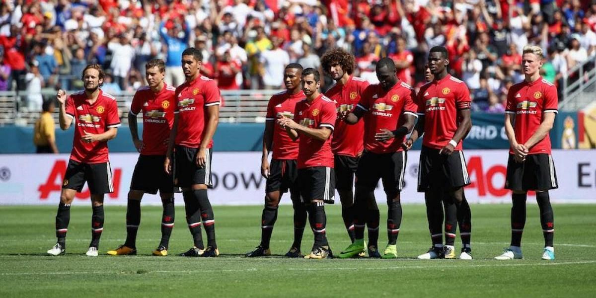 Manchester United vence al Real Madrid en la International Champions Cup