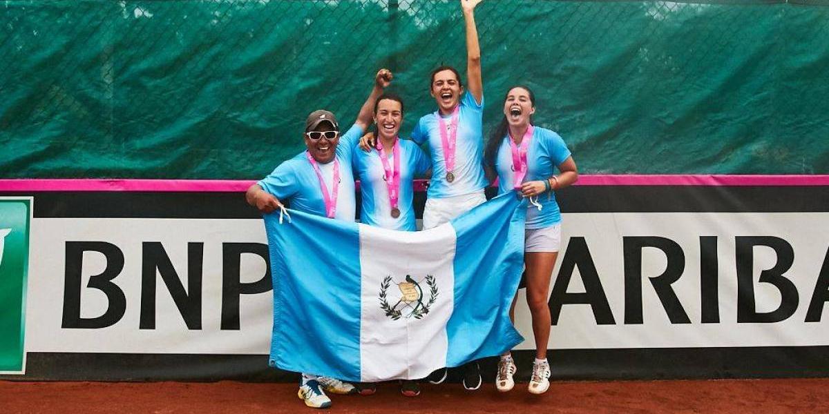 Guatemala estará en el Grupo I de la Fed Cup 2018