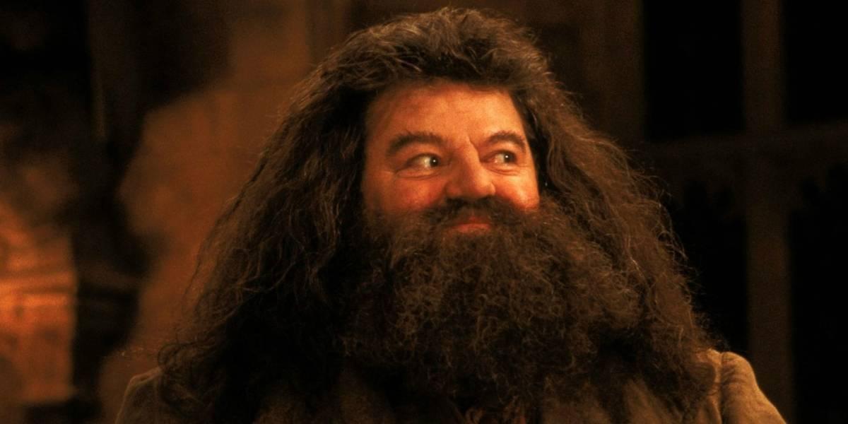 Así luce Hagrid de Harry Potter fuera de cámaras