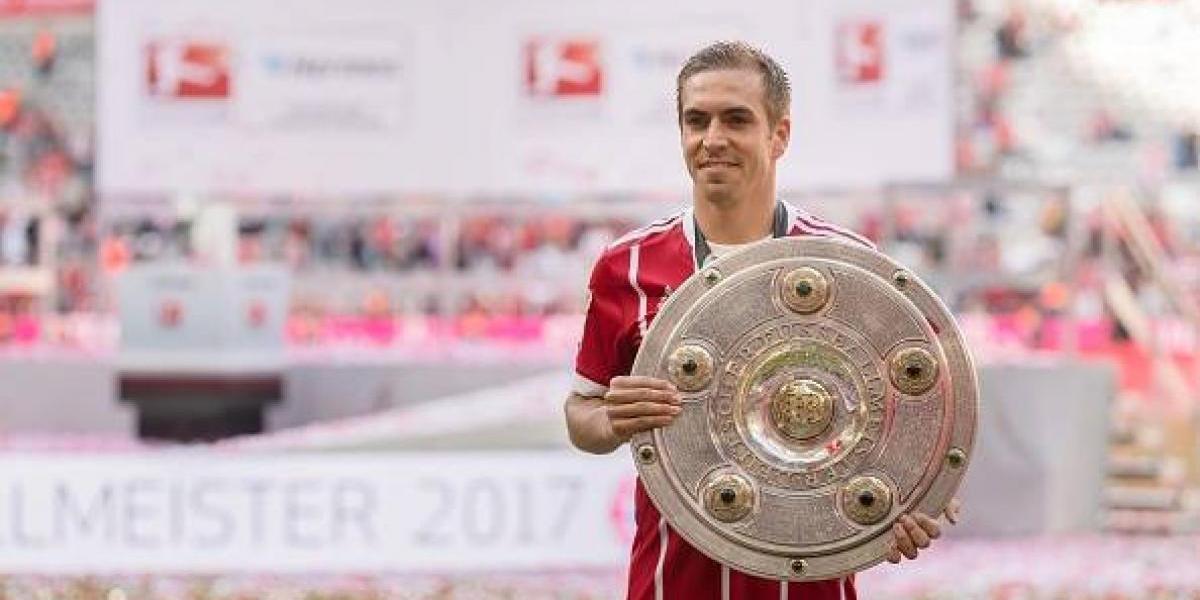 Philipp Lahm, futbolista del año en Alemania