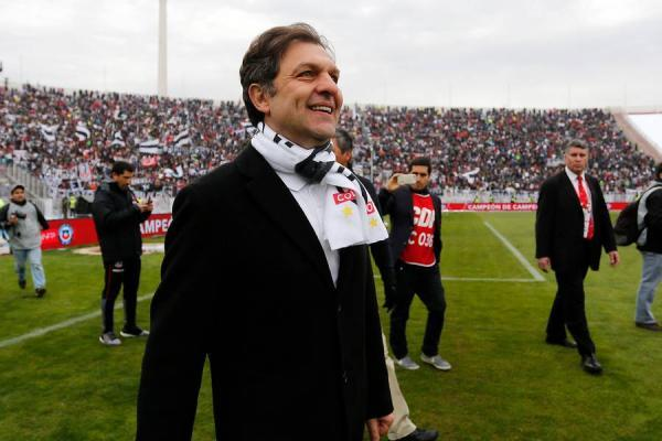 Aníbal Mosa celebra la Supercopa / Photosport