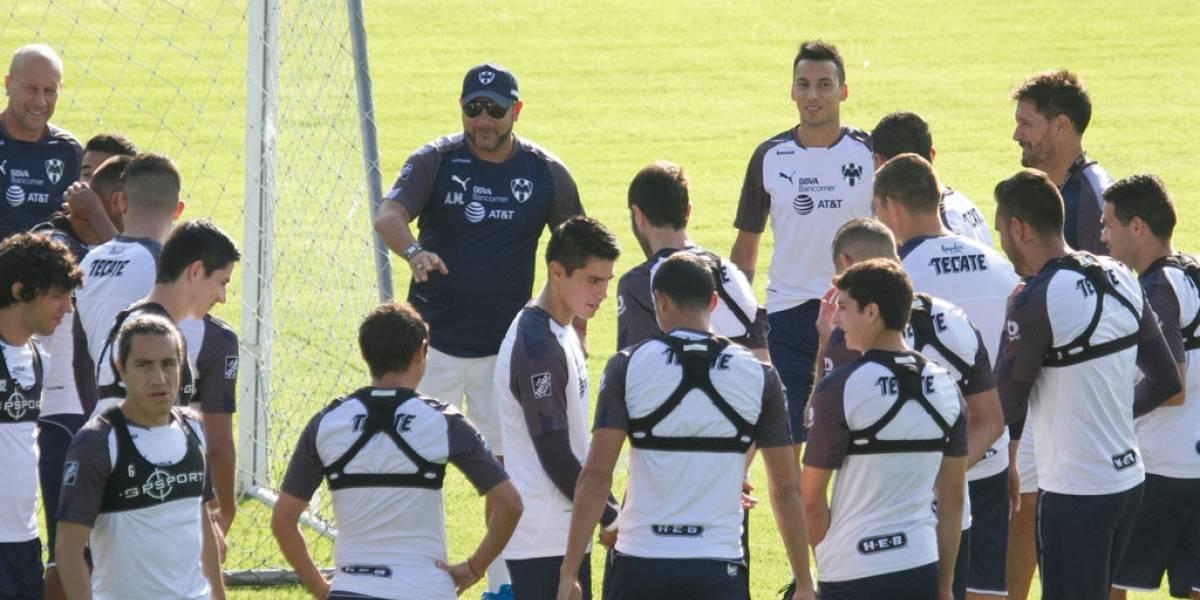 Rayados se enfoca en la Copa MX; ya entrenó Vangioni