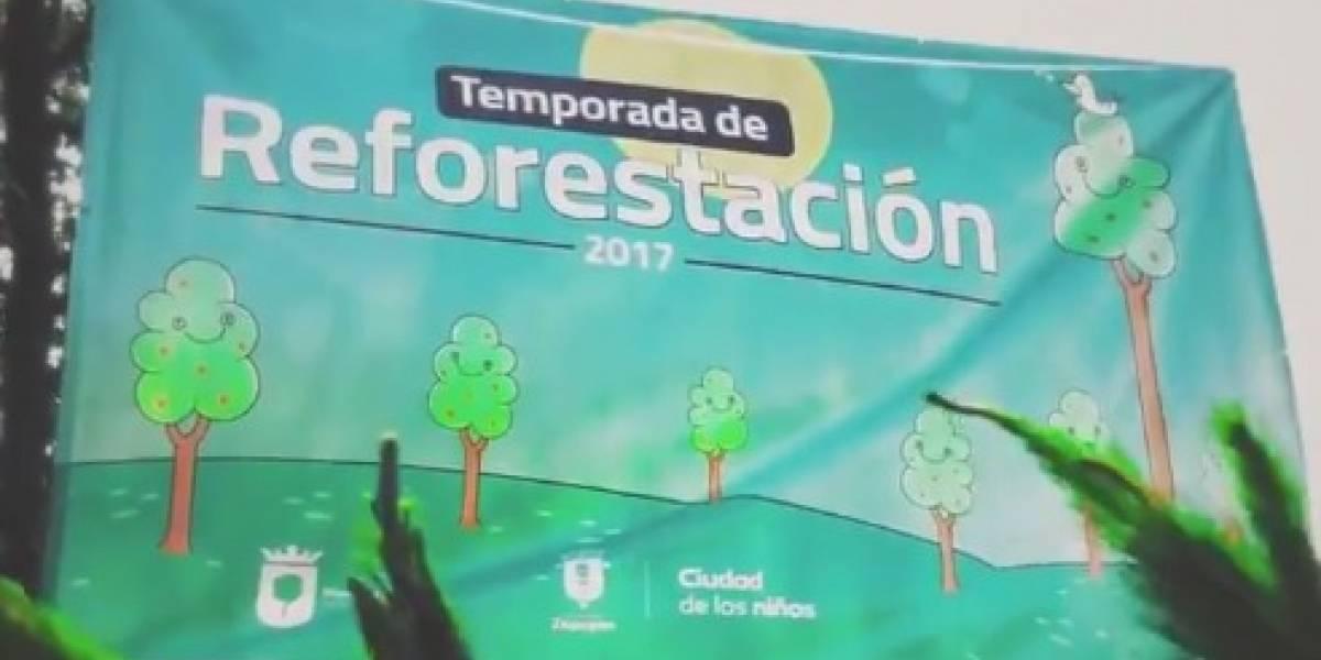 Realizan programa de reforestación más grande en la historia de Zapopan