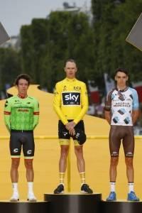 Chris Froome ganó el Tour de Francia 2017