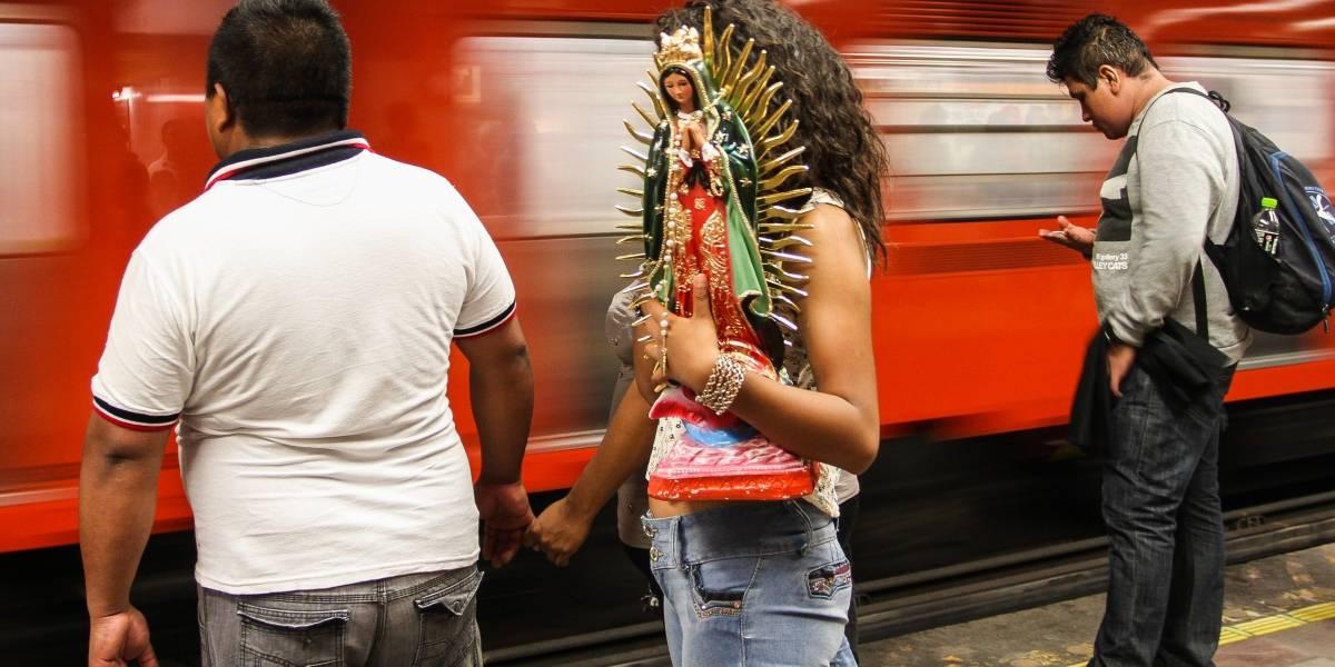 Detienen a sujeto que robo celular en Metro Bellas Artes