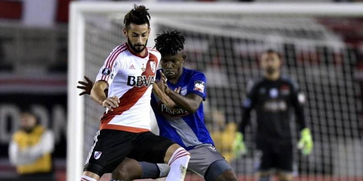 Marcelo Larrondo se lesionó nuevamente y se perderá los octavos de Copa Libertadores con River