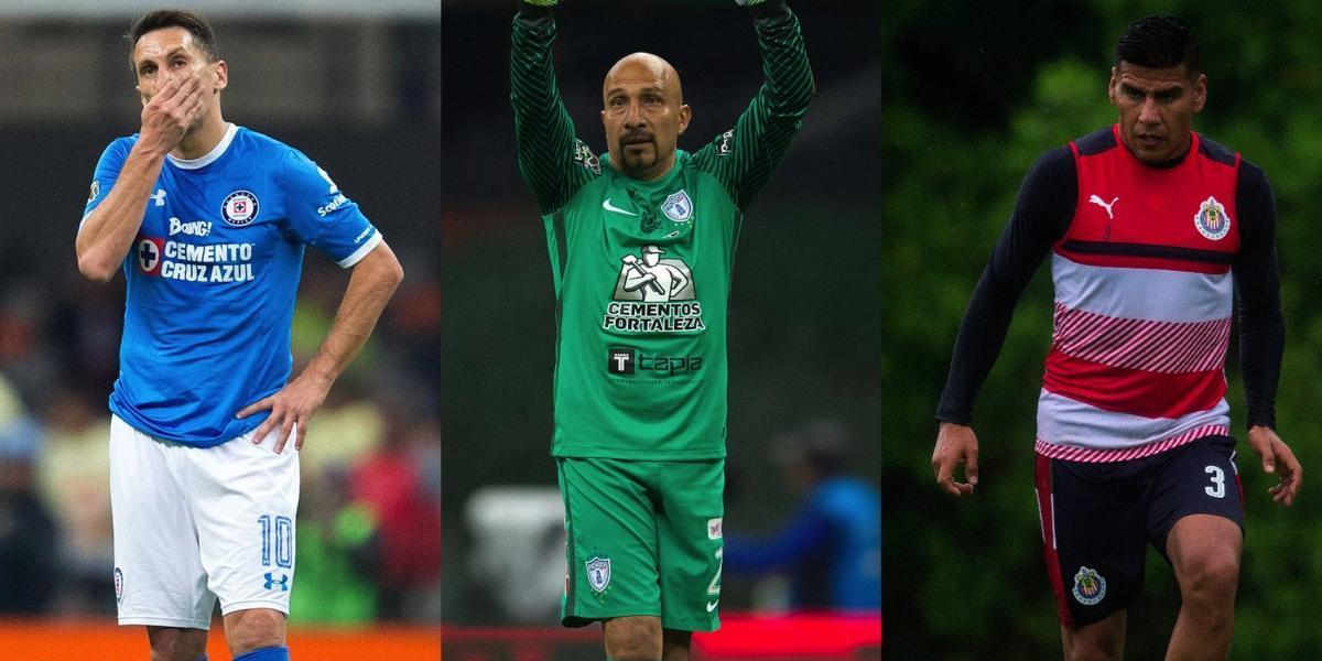 Los futbolistas que podrían retirarse al finalizar el Apertura 2017