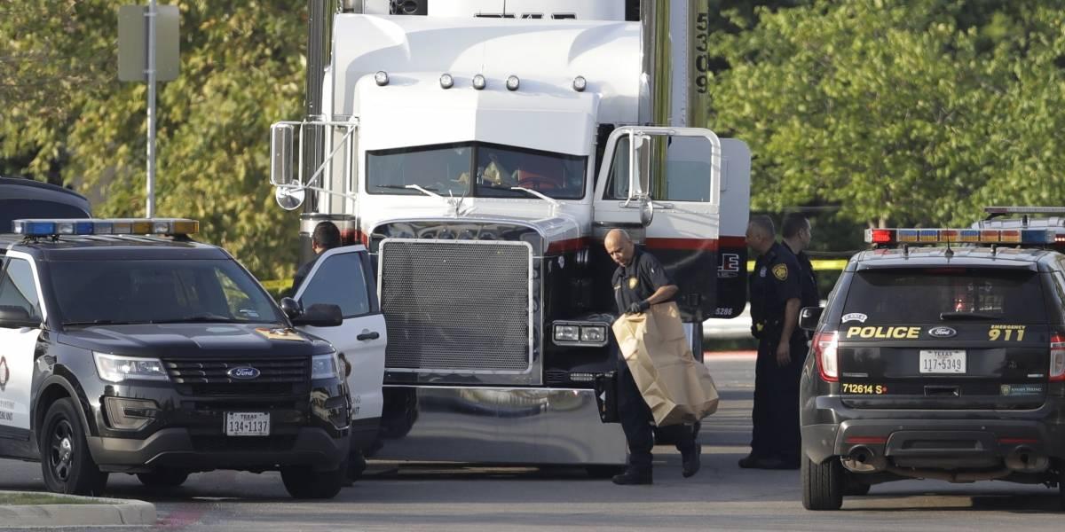 Ya son 10 los indocumentados muertos en caja de tráiler en Texas