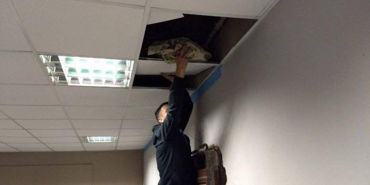 """""""Era para meterle a la gente"""": encuentran drogas en el techo de una comisaría en Argentina"""