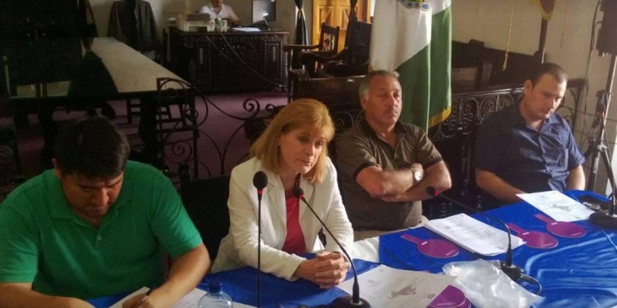 Muni de La Antigua Guatemala anuncia multas hasta por Q80 mil por exceso de volumen
