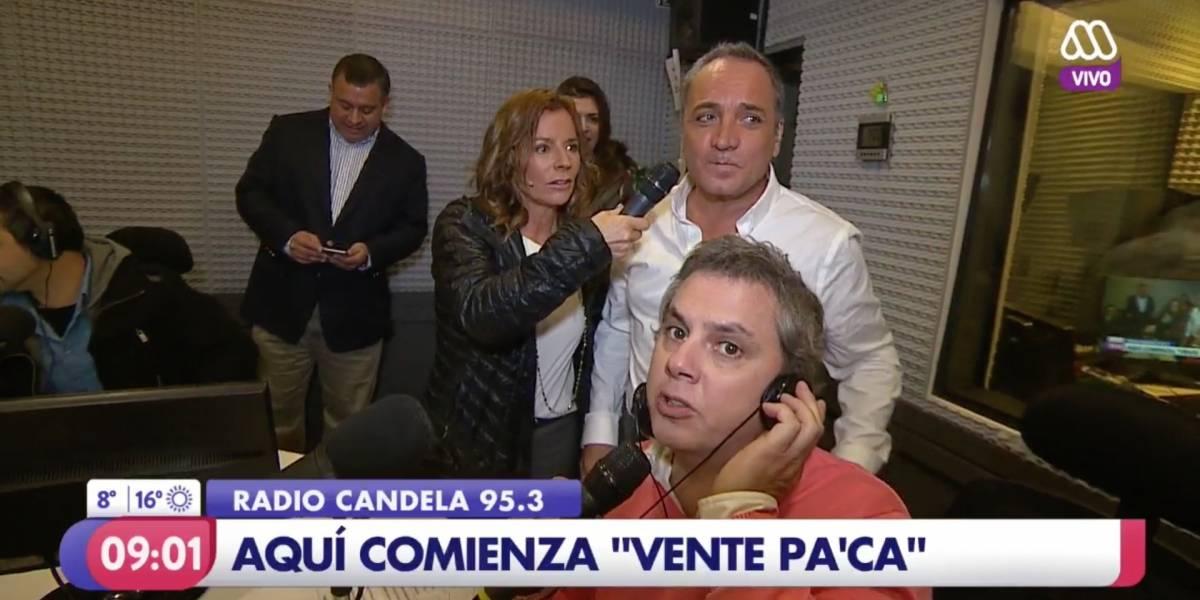 """¡Volvió Lucho Jara! Así fue la despedida de Viñuela en el """"Mucho Gusto"""""""