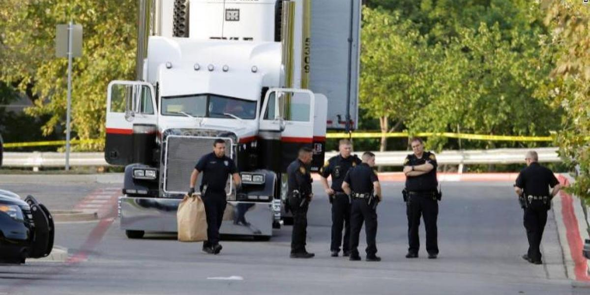 Migrantes en Texas muerieron sofocados de calor