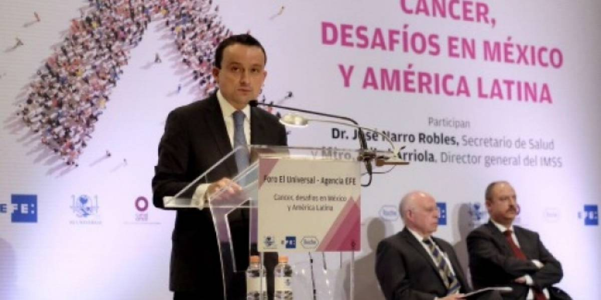 Mueren 8.8 millones de personas por cáncer en México: Seguro Social